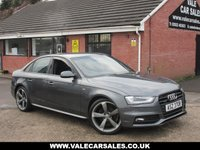 USED 2013 AUDI A4 2.0 TDI QUATTRO S LINE BLACK EDITION 4dr FULL SERVICE HISTORY / FOUR WHEEL DRIVE
