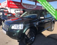USED 2010 60 LAND ROVER FREELANDER 2.2 TD4 HSE 5d AUTO 159 BHP PANORAMIC ROOF, FULL LEATHER