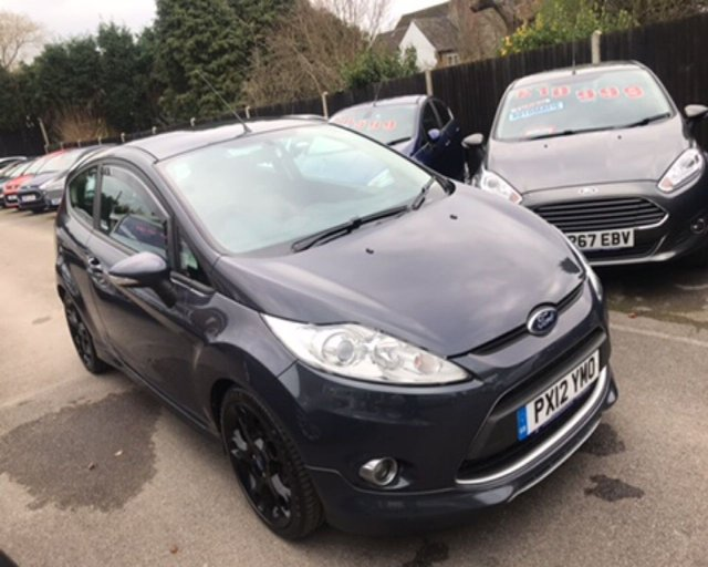 2012 12 FORD FIESTA 1.6 METAL (135ps) 3dr