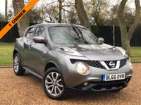 USED 2015 65 NISSAN JUKE 1.5 TEKNA DCI 5d 110 BHP 1 OWNER  GREAT SPEC