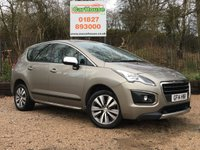 USED 2014 14 PEUGEOT 3008 1.6 E-HDI ACTIVE 5dr AUTO Great Spec, Only £20 Tax!