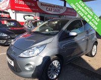 USED 2012 12 FORD KA 1.2 ZETEC 3d 69 BHP *ONLY 38,000 MILES*