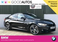 USED 2016 65 BMW 4 SERIES 3.0 435D XDRIVE M SPORT GRAN COUPE 4d AUTO 309 BHP