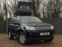 USED 2011 11 LAND ROVER FREELANDER 2 2.2 SD4 XS 5dr AUTO 1 Year Parts & Labour Warranty