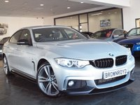 USED 2014 64 BMW 4 SERIES GRAN COUPE 2.0 420D XDRIVE M SPORT GRAN COUPE 4d AUTO 181 BHP M PERFROMANCE STYLING+X-DRIVE
