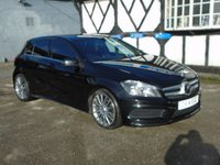 2014 MERCEDES-BENZ A CLASS 1.8 A200 CDI BLUEEFFICIENCY AMG SPORT 5d AUTO 136 BHP £14681.00