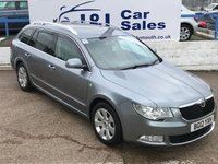 USED 2012 12 SKODA SUPERB 1.6 SE GREENLINE II TDI CR 5d 105 BHP