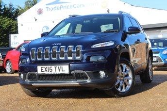 2015 JEEP CHEROKEE 2.0 M-JET LIMITED 5d AUTO 168 BHP £14950.00