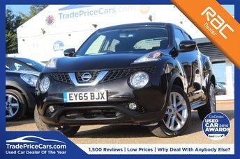 2016 NISSAN JUKE 1.6 ACENTA XTRONIC 5d AUTO 117 BHP £10995.00