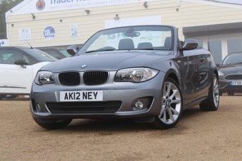 2012 BMW 1 SERIES 2.0 118I SE 2d 141 BHP £8500.00