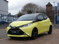 USED 2017 17 TOYOTA AYGO 1.0 VVT-I X-CITE 3 5d  FREE TAX ~ DAB ~ MUSIC STREAMING ~ REVERSE CAMERA ~ BLUETOOTH