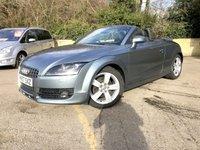 2007 AUDI TT 2.0 TFSI 2d 200 BHP ROADSTER, CAB, FULL LEATHER ONLY 58K £6990.00