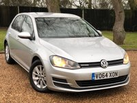USED 2014 64 VOLKSWAGEN GOLF 1.6 BLUEMOTION TDI 5d 108 BHP 1 OWNER FROM NEW