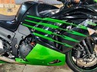USED 2015 15 KAWASAKI ZZR1400 PERFORMANCE SPORT R&G Tail Tidy
