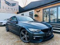 2016 BMW 4 SERIES 2.0 420D M SPORT 2d AUTO 188 BHP £19990.00