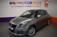USED 2015 65 SUZUKI SWIFT 1.6 SPORT 3d 134 BHP