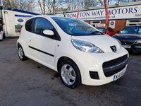 USED 2012 61 PEUGEOT 107 1.0 SPORTIUM 3d 68 BHP 0%  FINANCE AVAILABLE ON THIS CAR PLEASE CALL 01204 393 181