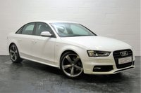 USED 2013 63 AUDI A4 1.8 TFSI S LINE BLACK EDITION S/S 4d 118 BHP AUDI SERVICE HISTORY + STUNNING THROUGHOUT