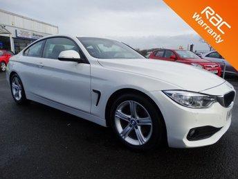 2015 BMW 4 SERIES 2.0 420D SE 2d AUTO 188 BHP