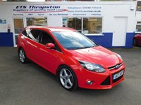 2013 FORD FOCUS 1.6 TITANIUM TDCI 115 5d 114 BHP £5795.00