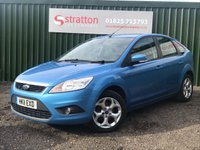 2011 FORD FOCUS 1.6 SPORT 5d AUTO 99 BHP £5495.00