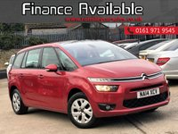 2014 CITROEN C4 GRAND PICASSO 1.6 E-HDI AIRDREAM VTR PLUS 5d 113 BHP £7977.00