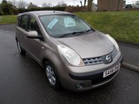 USED 2006 56 NISSAN NOTE 1.6 SE 5d AUTO 109 BHP ++AUTOMATIC WITH SERVICE HISTORY++