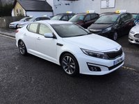 USED 2014 14 KIA OPTIMA 1.7 CRDI 2 ECODYNAMICS 4d 134 BHP OUR  PRICE INCLUDES A 6 MONTH AA WARRANTY DEALER CARE EXTENDED GUARANTEE, 1 YEARS MOT AND A OIL & FILTERS SERVICE. 6 MONTHS FREE BREAKDOWN COVER.   CALL US NOW FOR MORE INFORMATION OR TO BOOK A TEST DRIVE ON 01315387070 !!