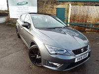 USED 2016 16 SEAT LEON 1.4 TSI FR BLACK TECHNOLOGY 5d 125 BHP One Owner Full SEAT Service History