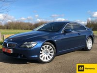 2005 BMW 6 SERIES 4.4 645CI AUTO 329 BHP 2DR COUPE £5395.00