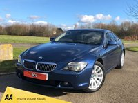 USED 2005 55 BMW 6 SERIES 4.4 645CI AUTO 329 BHP 2DR COUPE +XENONS+SAT-NAV+ 11 STAMPS