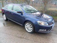 2014 VOLKSWAGEN PASSAT 2.0 EXECUTIVE TDI BLUEMOTION TECHNOLOGY 5d 139 BHP £6495.00