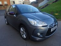 USED 2011 11 CITROEN DS3 1.6 DSTYLE 3d 120 BHP 1 PREVIOUS KEEPER *  PARKING AID *  FULL YEAR MOT *  MEDIA CONNECTIVITY *  SERVICE RECORD *