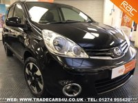2012 NISSAN NOTE 1.6 16V AUTOMATIC N-TEC + 5 DOOR £SOLD