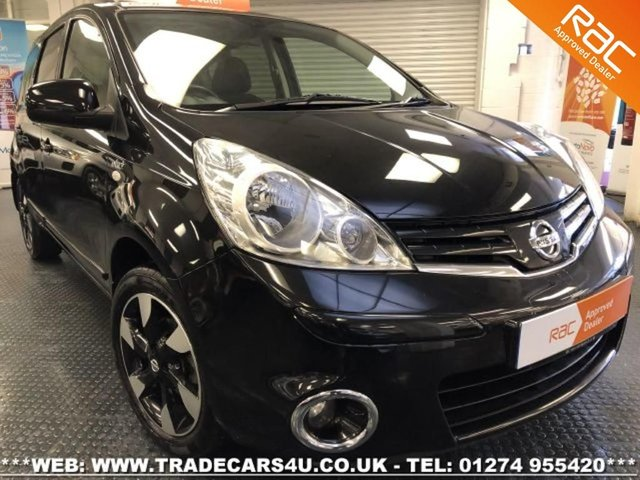 2012 62 NISSAN NOTE 1.6 16V AUTOMATIC N-TEC + 5 DOOR