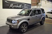 USED 2011 61 LAND ROVER DISCOVERY 4 3.0 4 SDV6 LANDMARK LE 5d AUTO 245 BHP LANDMARK EDITION - 8 STAMPS TO 90K INCL CAMBELTS - NAV - LEATHER - PRIVACY - HEATED SEATS
