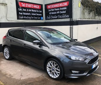 2016 FORD FOCUS 1.5 ZETEC S TDCI 5DR 120 BHP, NAVIGATION, LOW RUNNING COSTS £12450.00
