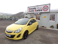 2013 VAUXHALL CORSA 1.2 LIMITED EDITION 3 DOOR 83 BHP £5995.00