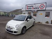 USED 2014 14 FIAT 500 1.2 S 3 DOOR 69 BHP £26 PER WEEK, NO DEPOSIT - SEE FINANCE LINK