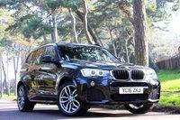 2016 BMW X3 2.0 XDRIVE20D M SPORT 5d AUTO 190 BHP £22950.00