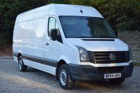 USED 2015 15 VOLKSWAGEN CRAFTER 2.0 CR35 TDI H/R P/V 5d 136 BHP
