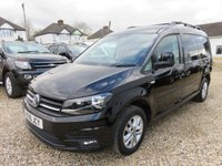 2016 VOLKSWAGEN CADDY MAXI 2.0 C20 TDI HIGHLINE 102 BHP WITH TAILGATE 24521 MILES £13950.00