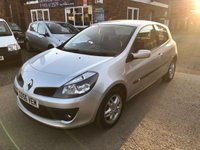 USED 2006 56 RENAULT CLIO 1.4 DYNAMIQUE 16V 3d 98 BHP