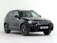 2017 BMW X3 3.0 xDrive35D M Sport PLUS 5d AUTO 309 BHP £28487.00