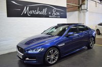 USED 2015 65 JAGUAR XE 2.0 R-SPORT 4d 180 BHP *HUGE SPEC* R SPORT - 180BHP - LEATHER - NAV - R/CAMERA - LANE ASSIST - BLIND SPOT ASSIST - PRIVACY - GLASS PANORAMIC ROOF - HEATED SEATS - HEATED STEERING WHEEL