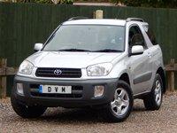 2003 TOYOTA RAV4 1.8 NV VVT-I 4X2 3d 123 BHP £2670.00