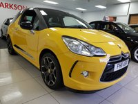 USED 2011 11 CITROEN DS3 1.6 E-HDI DSTYLE PLUS+LIMITED EDITION+BLACK ROOF+BLACK ALLOYS+