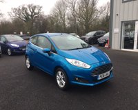 USED 2016 16 FORD FIESTA 1.25 ZETEC 3d THIS VEHICLE IS AT SITE 2 - TO VIEW CALL US ON 01903 323333