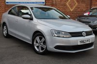 USED 2012 62 VOLKSWAGEN JETTA 1.6 SE TDI BLUEMOTION TECHNOLOGY 4d 104 BHP