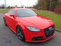 2012 AUDI TT 2.0 TDI QUATTRO S LINE BLACK EDITION 2d 168 BHP £11490.00